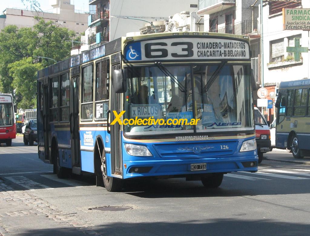 Linea 63 A Barrancas De Belgrano Villa Madero