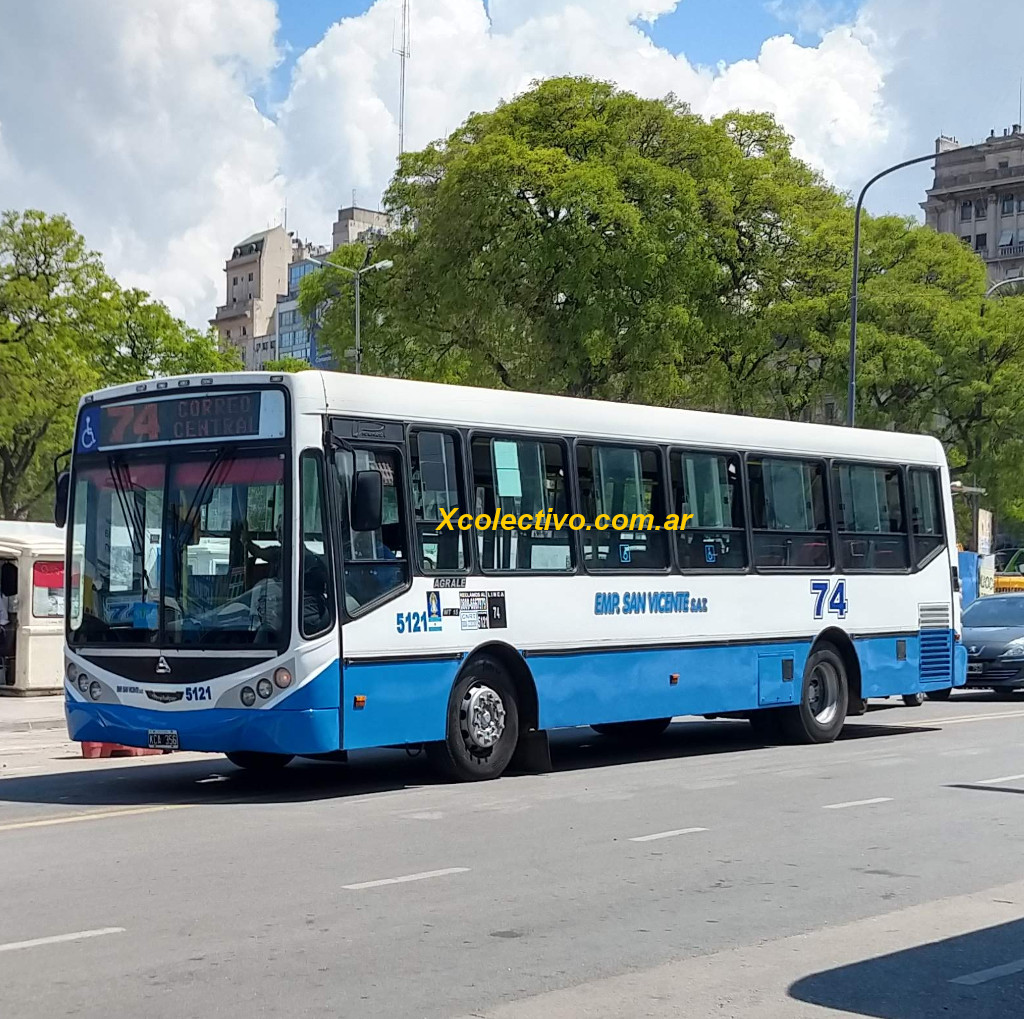 Linea 74 De Colectivos En Buenos Aires Correo Central