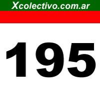 Linea 195 de Colectivos en Buenos Aires - Retiro - Consucion ... on