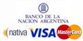 Promo de Andesmar pagando en 15% de descuento y 6 Cuotas sin interés todos los dias  con Tarjetas del Banco Nacion